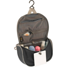 Sea to Summit Travelling Light Hanging Toiletry Bag Small Black/Grey